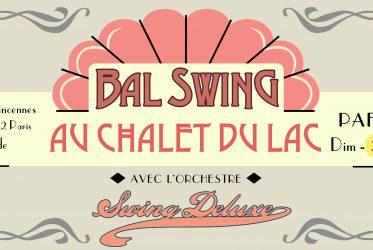 Bal Swing Chalet du Lac 21 septembre