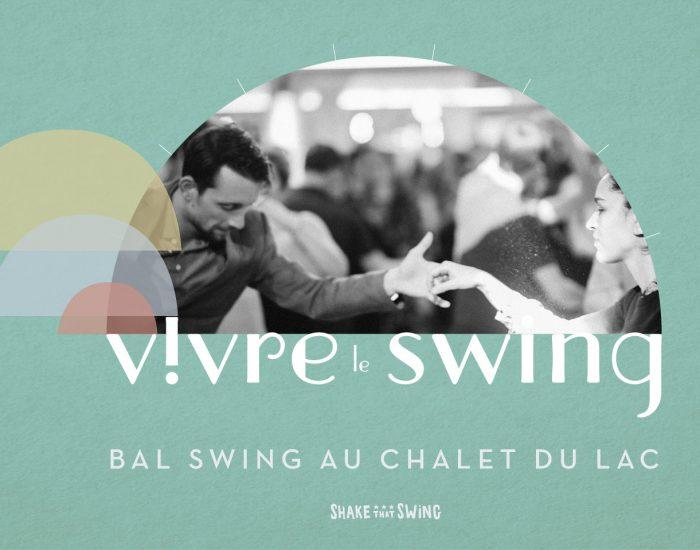 Bannière Bal Swing au Chalet du Lac