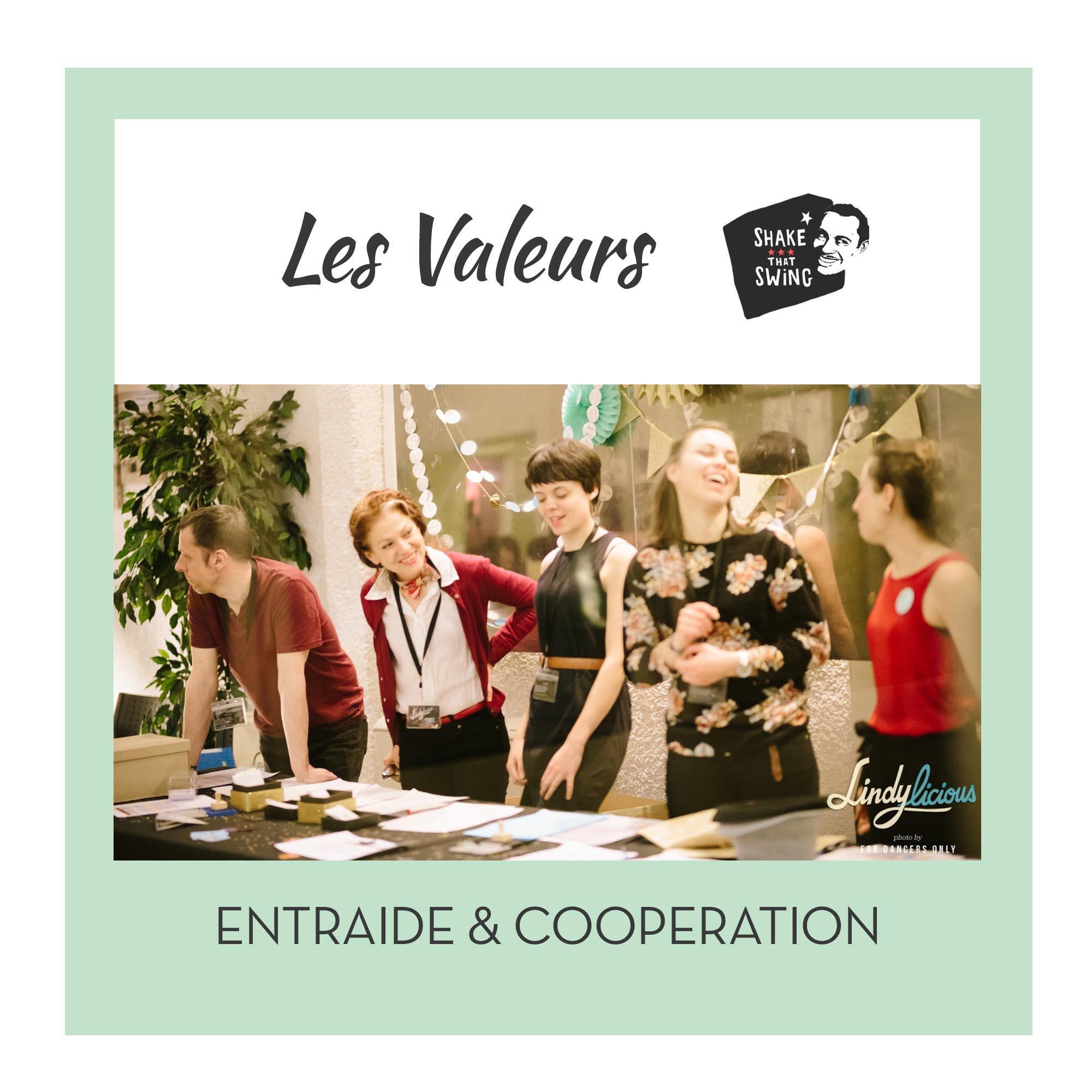 Entraide & coopération